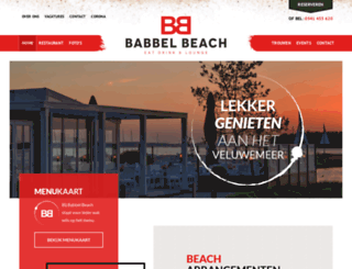babbelbeach.nl screenshot