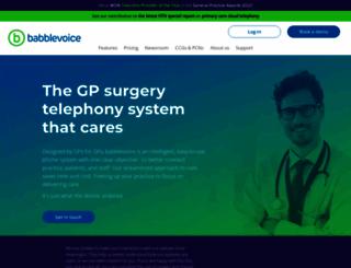 babblevoice.com screenshot