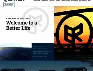babcockranch.com screenshot