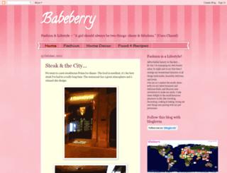 babeberry.blogspot.com screenshot