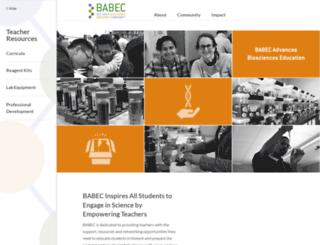babec.org screenshot