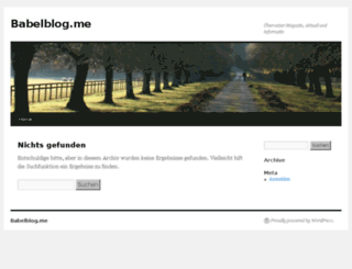 babelblog.me screenshot