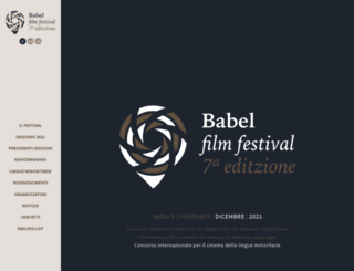 babelfilmfestival.com screenshot