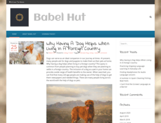 babelhut.com screenshot