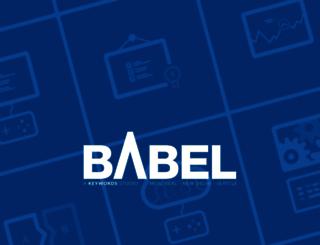 babelmedia.com screenshot