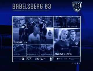 babelsberg03.de screenshot