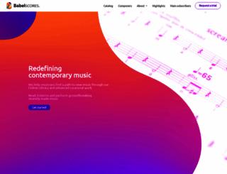 babelscores.com screenshot