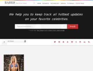 babes.celespy.com screenshot