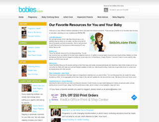 babies.com screenshot