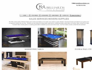 babilliards.com screenshot