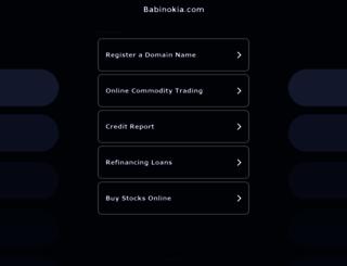babinokia.com screenshot