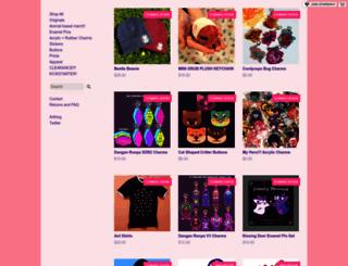 babirousa.storenvy.com screenshot