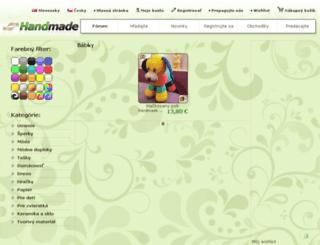 babky.handmade.sk screenshot