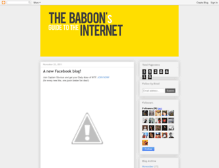baboonsguide.blogspot.com screenshot