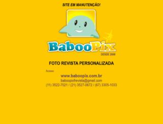 baboopix.com.br screenshot