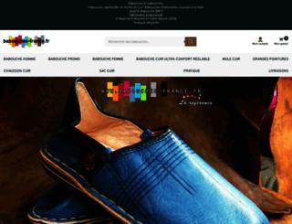 babouches-france.fr screenshot