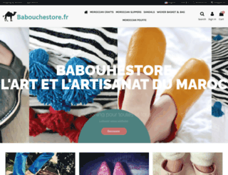 babouchestore.fr screenshot