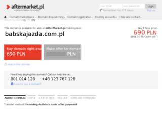 babskajazda.com.pl screenshot