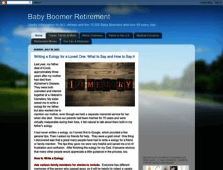 baby-boomer-retirement.com screenshot