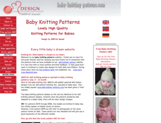 baby-knitting-patterns.com screenshot