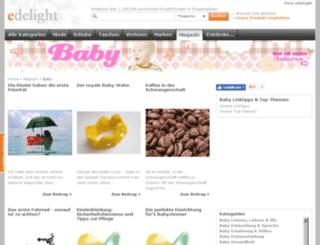 baby.edelight.de screenshot