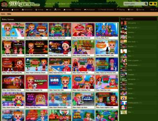 baby.gamesxl.com screenshot