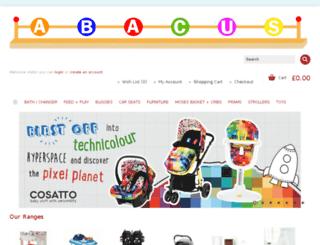 babyabacus.co.uk screenshot