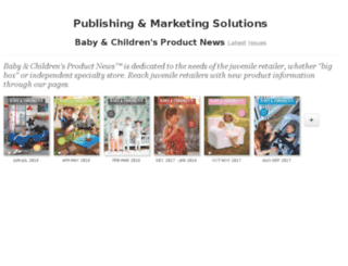 babyandchildrensproductnewsonline.epubxp.com screenshot