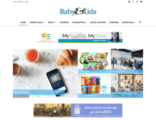 babyandkidsmagazine.com screenshot