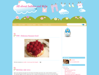 babyandkidsworld.blogspot.com screenshot