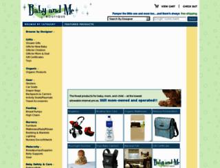 babyandmeboutique.com screenshot
