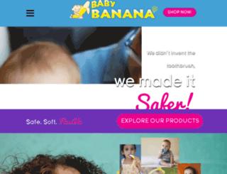 babybananabrush.com screenshot