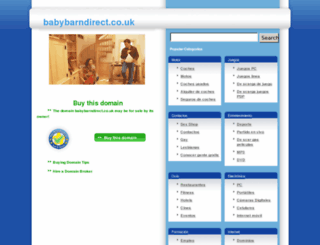 babybarndirect.co.uk screenshot