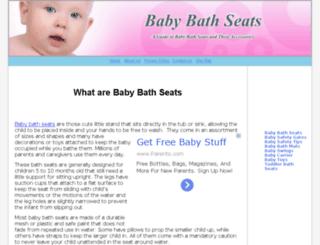 babybathseats.info screenshot