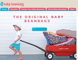 babybeanbags.com.au screenshot