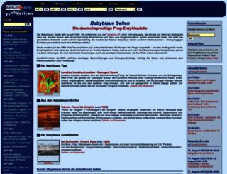 babyblaue-seiten.de screenshot