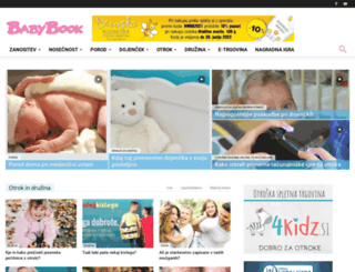 babybook.si screenshot