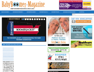 babyboomer-magazine.com screenshot