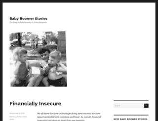 babyboomerstories.com screenshot