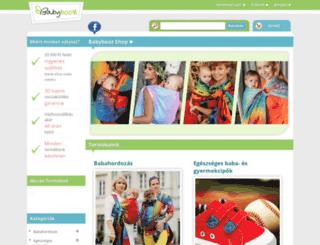 babybooz.com screenshot