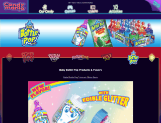 babybottlepop.com screenshot