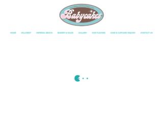 babycakessandiego.com screenshot