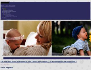 babycarejournals.com screenshot