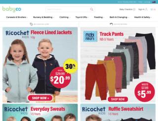 babyco.com.au screenshot