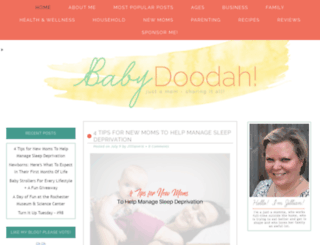 babydoodah.com screenshot