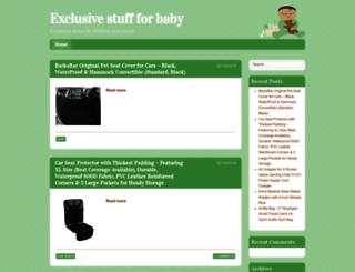 babyexclusives.com screenshot