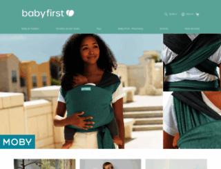 babyfirst.co.nz screenshot