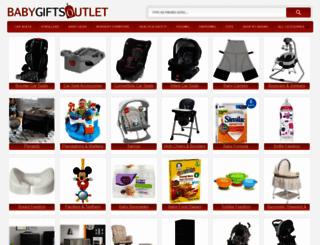 babygiftsoutlet.com screenshot