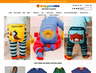 babygoesretro.com.au screenshot