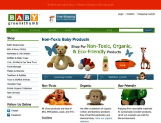 babygreenthumb.com screenshot